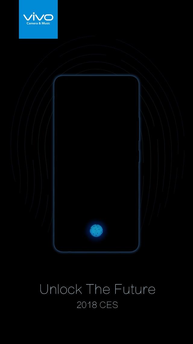 Vivo представит смартфон со сканером, встроенным в дисплей, 10 января