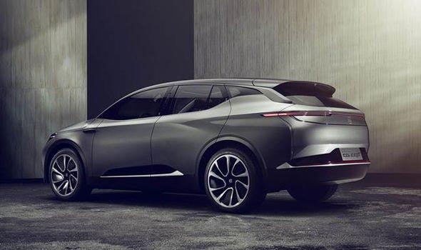 Компания Byton показала концептуальный электромобиль