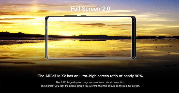Смартфон AllCall Mix2 показывает все возможности Full Screen 2.0