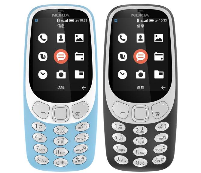 В Китае представлен телефон Nokia 3310 4G
