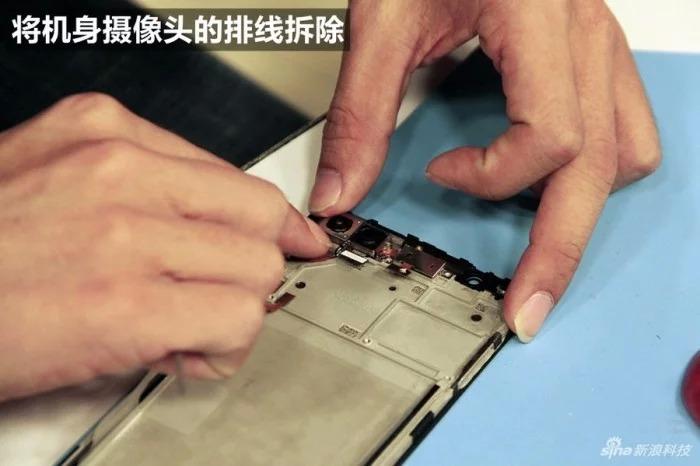 Умельцы уже разобрали новый смартфон Vivo X20 Plus UD
