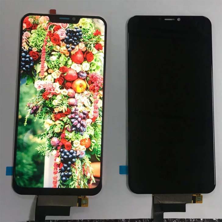 AMOLED-дисплей смартфона Doogee V показали на фото