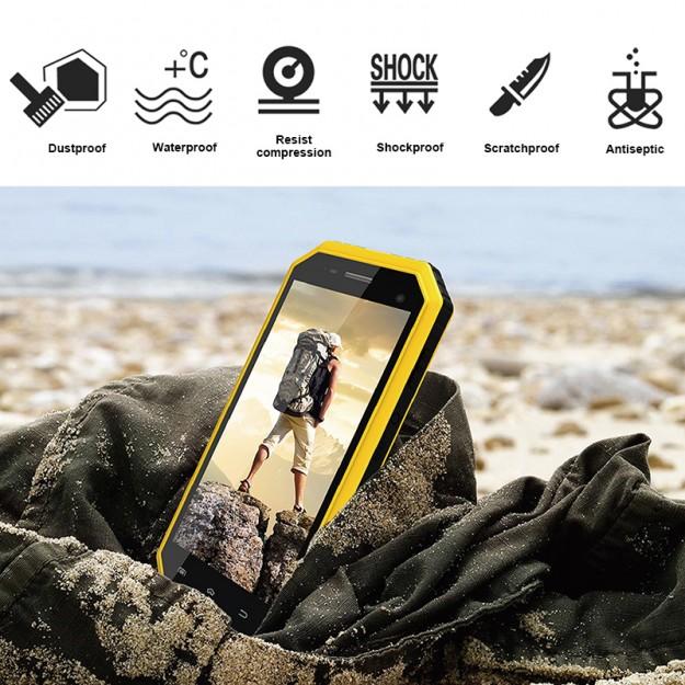 Защищенный по IP68 смартфон E&L W6S всего за ,99!