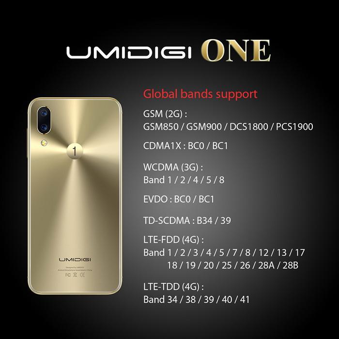 Опубликован рекламный тизер смартфона Umidigi One