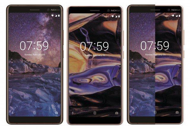 Опубликован рендер Nokia 7 Plus в черном корпусе