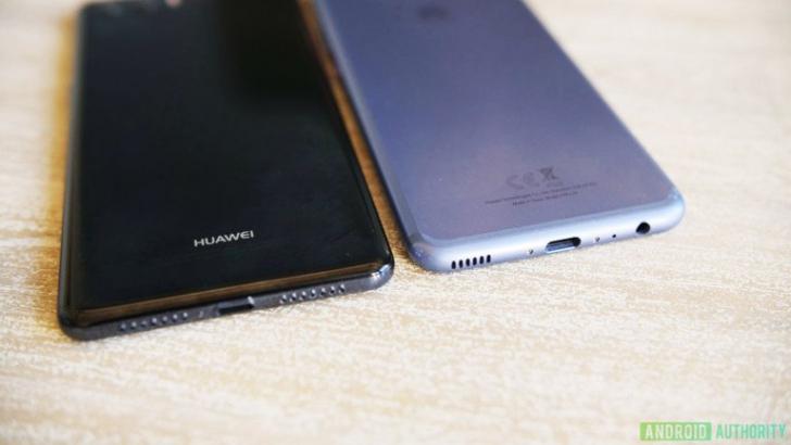 Huawei P20 попал на «живые» фото