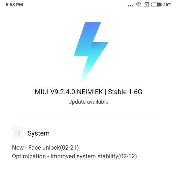 Xiaomi Redmi Note 5 Pro теперь умеет определять лицо владельца