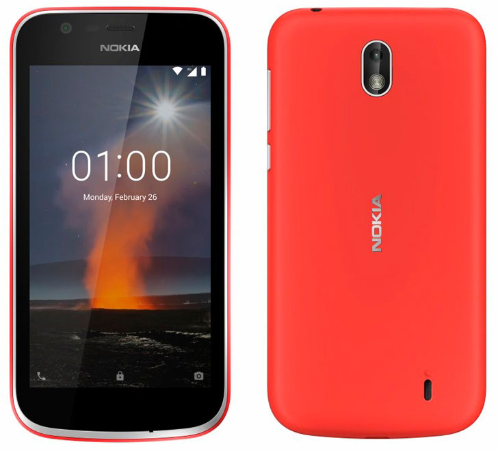 Nokia 1 - самый доступный смартфон бренда на Android Oreo Go Edition
