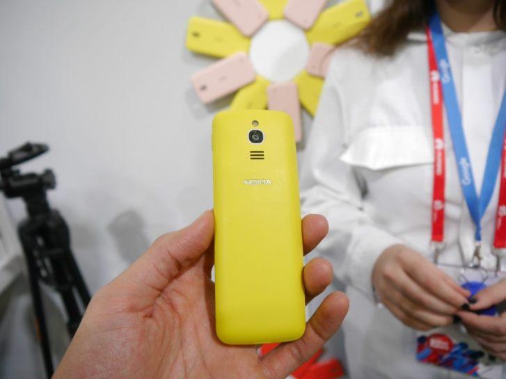 На MWC представлен Nokia 8810 4G, реинкарнация старого слайдера