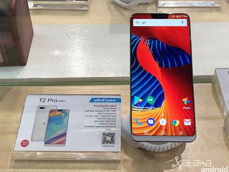 Ulefone T2 Pro стал первым смартфоном на чипе Helio P70