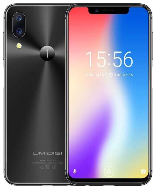 Umidigi One получит боковой сканер отпечатков пальцев