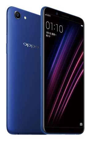 Представлен смартфон Oppo A1 без сканера отпечатков пальцев