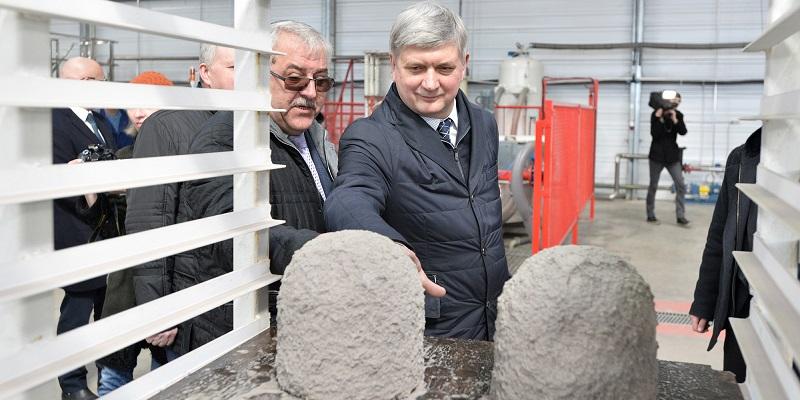 Рискнули и угадали: Огнеупорное производство в Верхнехавском районе получило высокую оценку главы Воронежской области