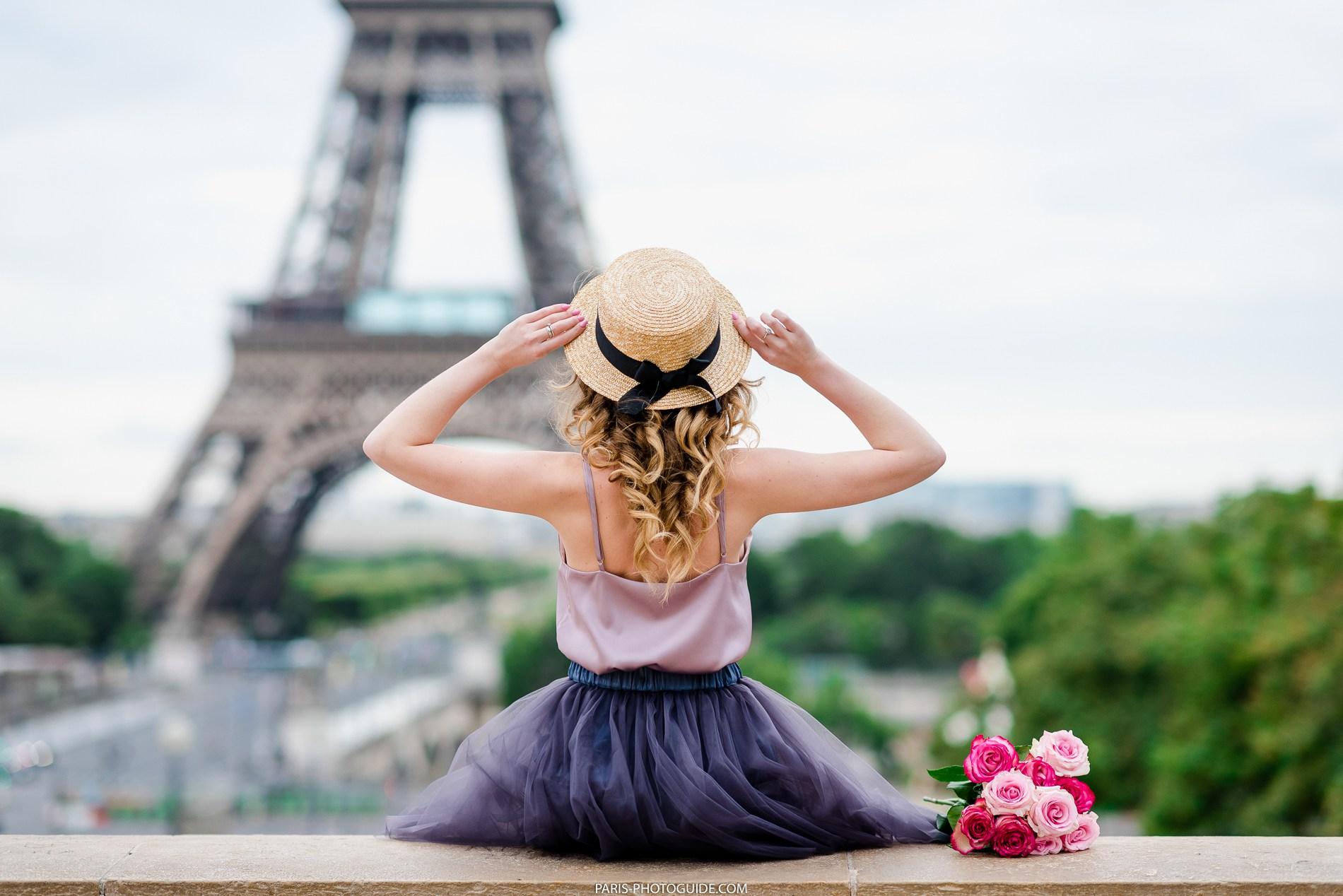 Профессиональные фотосессии в Париже