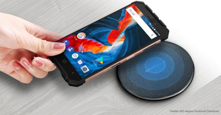 Ulefone выпустила беспроводное зарядное устройство