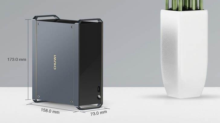 Chuwi готовит мини-компьютер HiGame на платформе Intel Kaby Lake-G