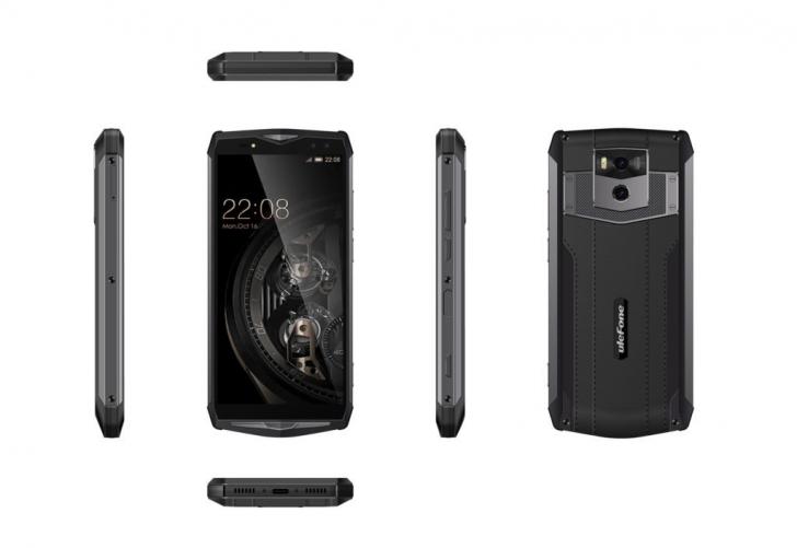 Ulefone представила смартфон Power 5 с батареей 13 000 мАч