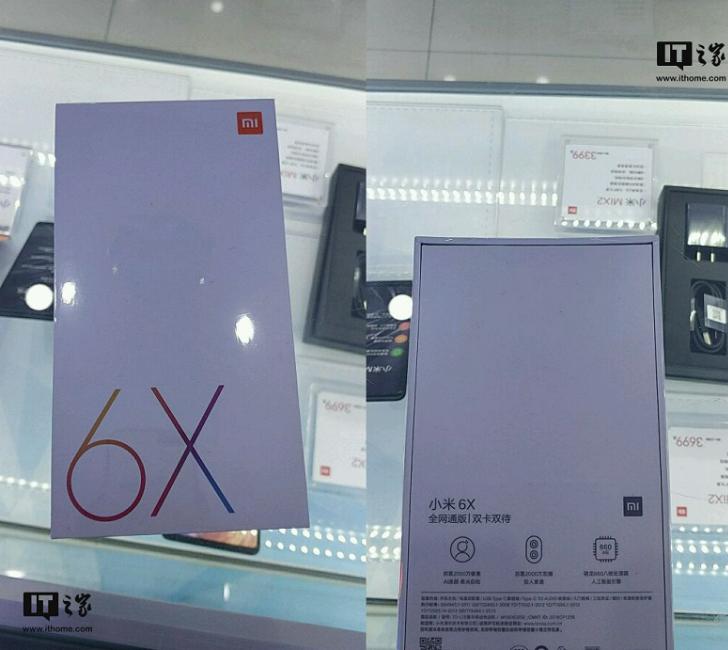 Xiaomi Mi 6X замечен на официальном сайте Android