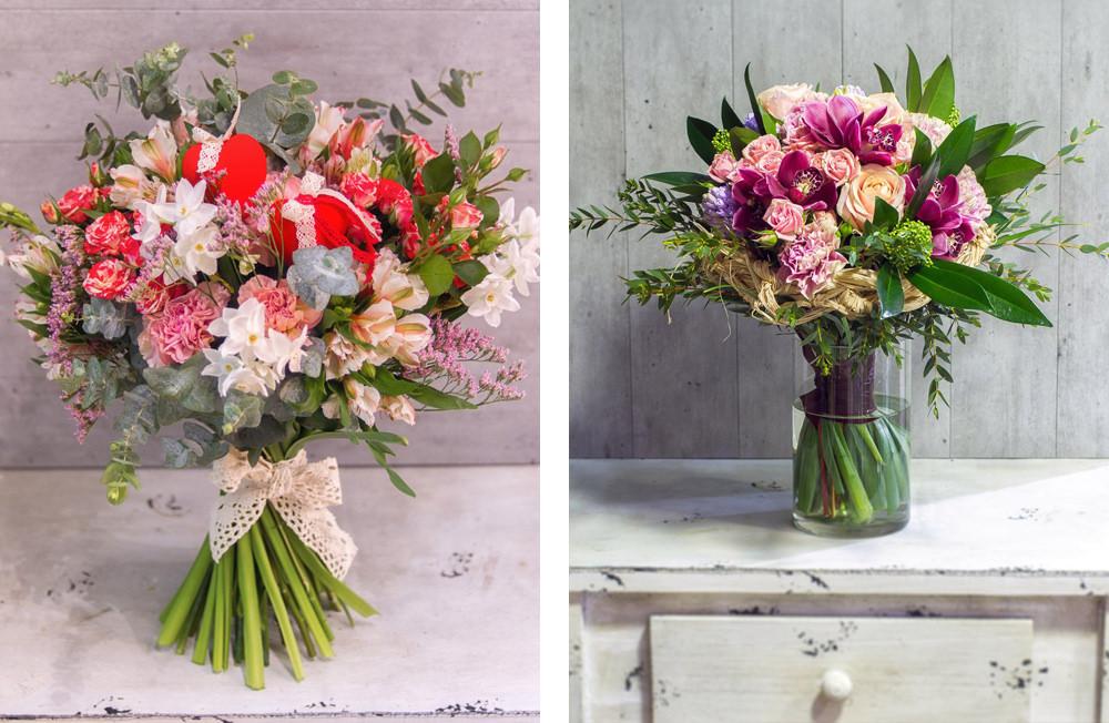 Букеты цветов по разным поводам и в разных стилях