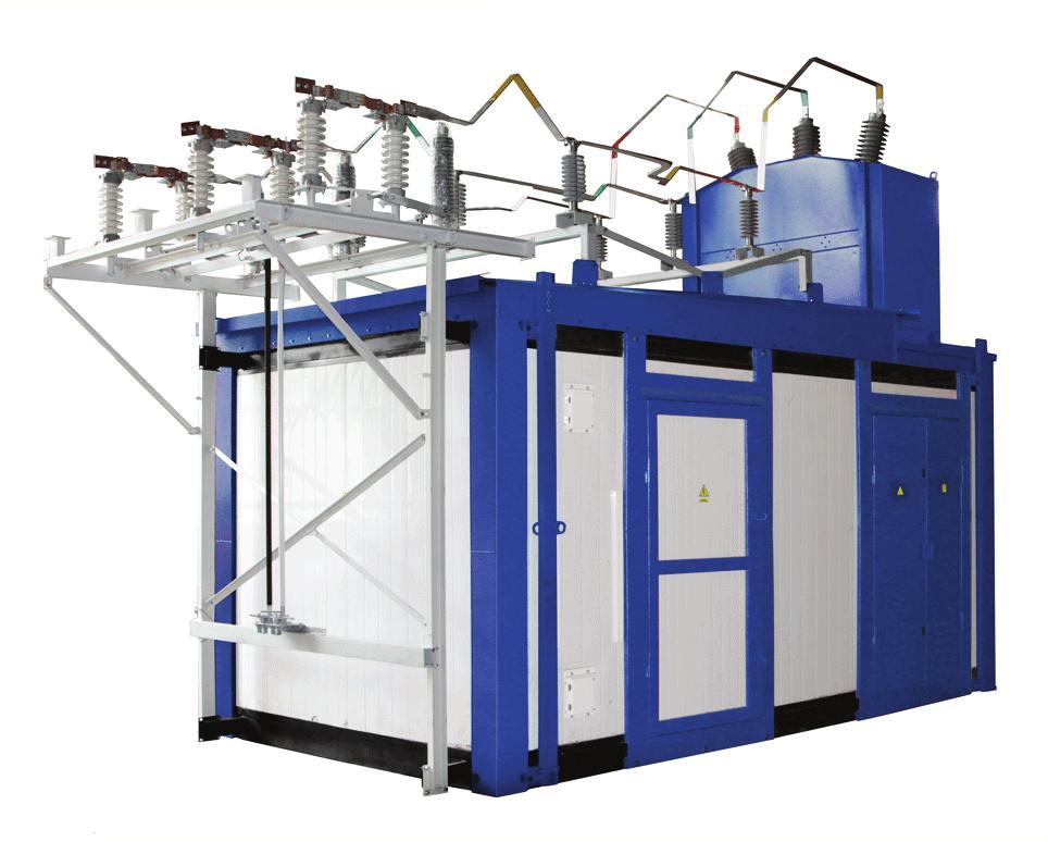 Разработка и производство КТП на 6-20кВ