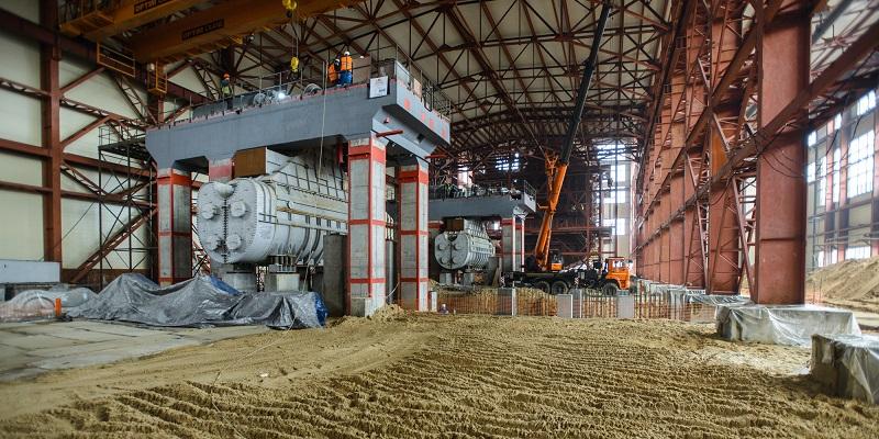 «Час икс» не за горами: Строительство новой парогазовой установки Воронежской ТЭЦ-1 завершится в 2018 г.