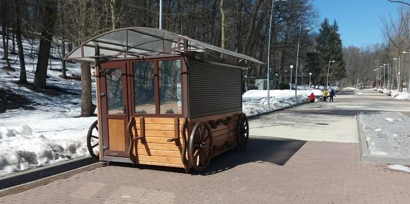 Сделай сам!: Мэрия Воронежа определила под демонтаж киоски в Центральном парке