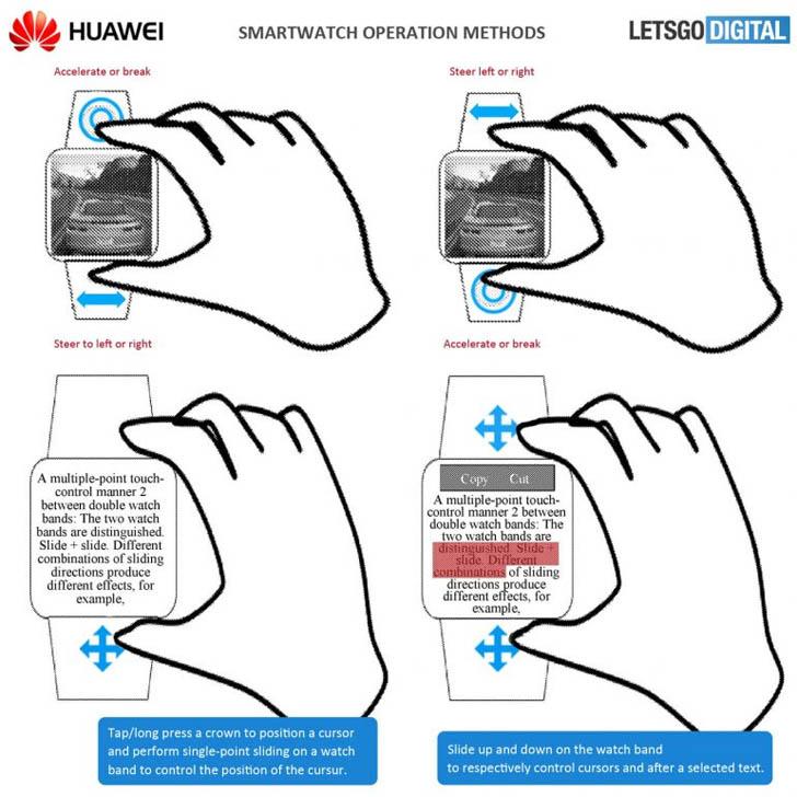 Компания Huawei получила патент на игровые смарт-часы