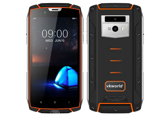 Защищенный Vkworld VK7000 имеет поддержку беспроводной зарядки