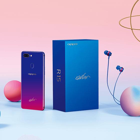 Появилась специальная версия смартфона Oppo R15