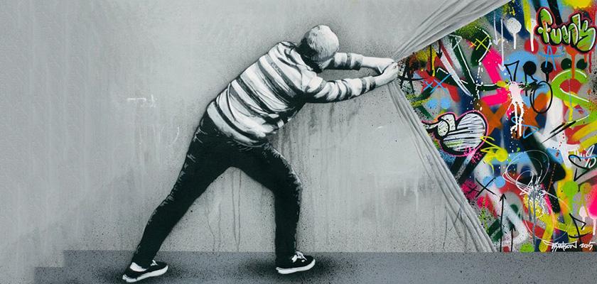 Как за несколько дней стать мастером граффити