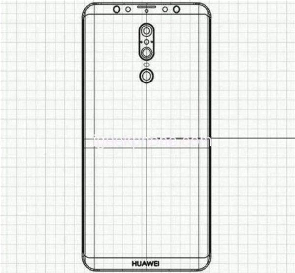 Huawei Mate 20 может выглядеть так
