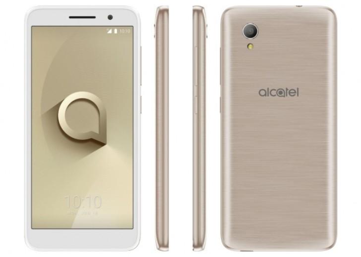 Alcatel 1 получит очень скромные характеристики
