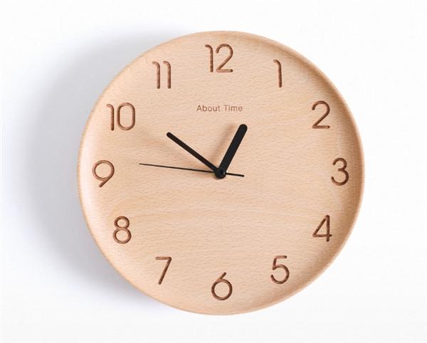 Xiaomi Wooden Digital Wall Clock - деревянные настенные часы за
