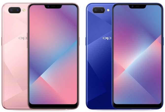 Смартфон Oppo A5 представили официально