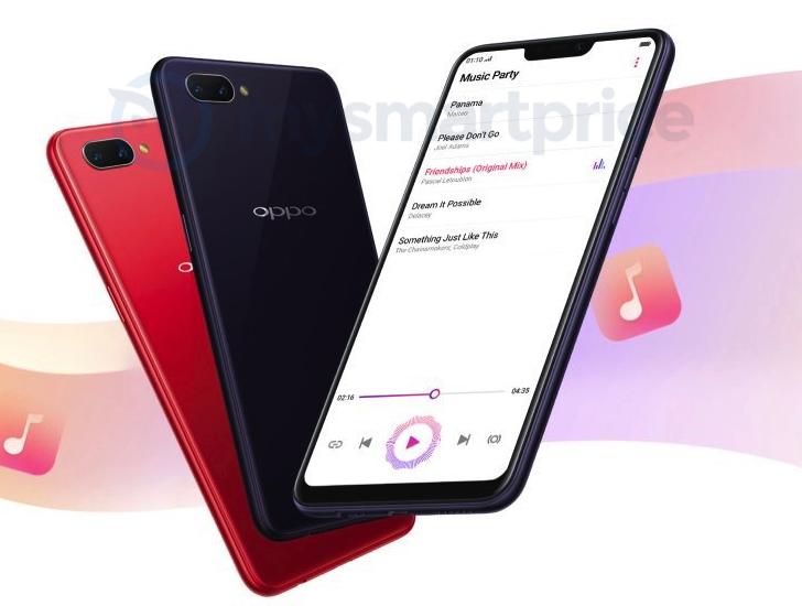 Готовится к выходу смартфон Oppo A3S на Snapdragon 450