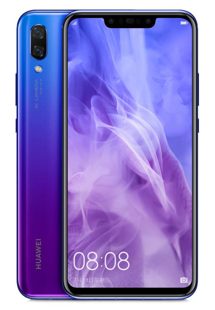 Уже известны все характеристики смартфона Huawei Nova 3