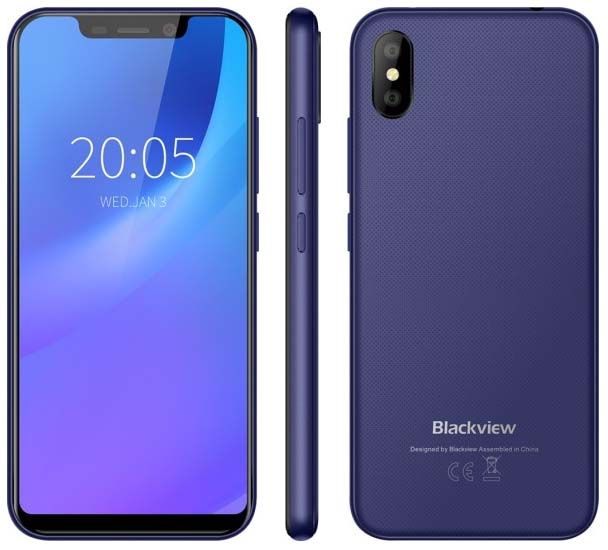 Представлен доступный смартфон Blackview A30 за