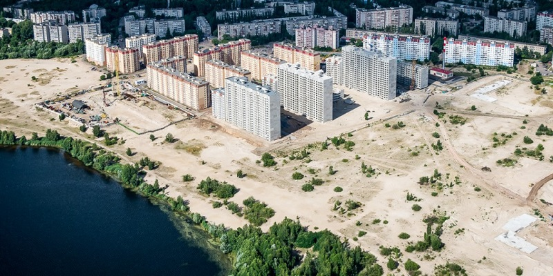 Намытое – застроить!: Власти Воронежа согласовала проект освоения квартала на Левом берегу, где «ДСК» уже возводит высотки