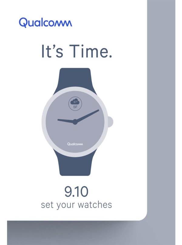 Компания Qualcomm разработала новый чип для умных часов