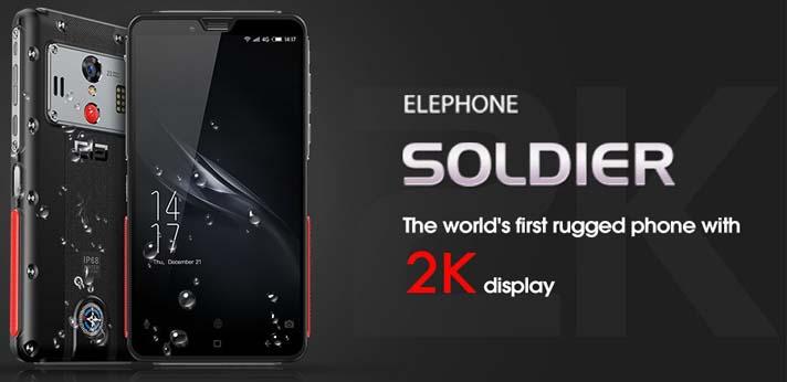 Elephone Soldier за 9,99 и распродажа на Coolicool!