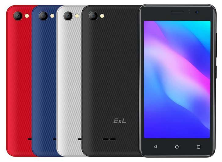 Представлены бюджетные смартфоны EL W40 и W45 за  и