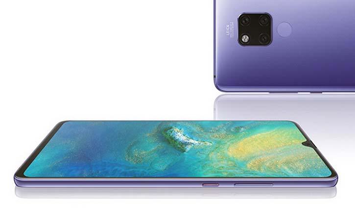 Игровой смартфон Huawei Mate 20X получил 7,2-дюймовый экран