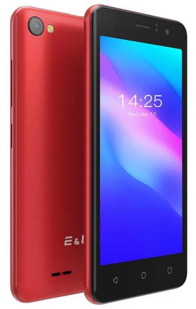 Смартфон начального уровня EL W45 с технологией RawColor стоит всего