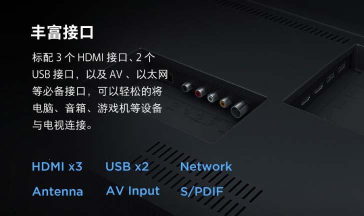 Представлен 65-дюймовый умный телевизор серии Xiaomi Mi TV 4A