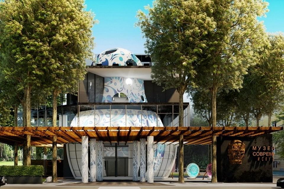 Лучше поздно, чем никогда: В воронежском парке «Орленок» взялись за строительство Центра современного искусства