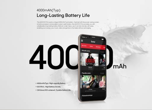Leagoo M11 с аккумулятором на 4000 мАч всего за ,89