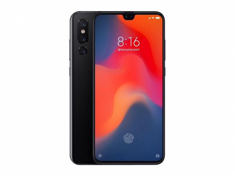 Новые рендеры и слухи о будущем флагмане Xiaomi Mi9