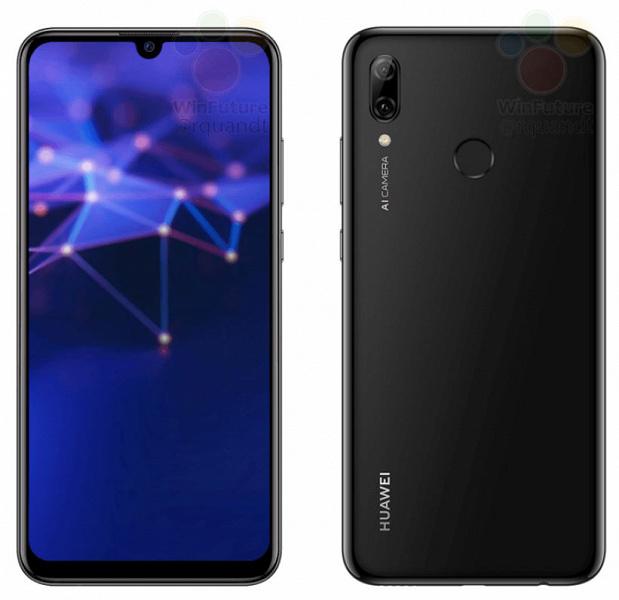 Опубликованы официальные рендеры Huawei P Smart (2019)