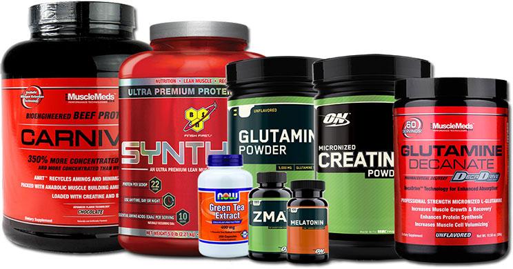 Спортивные биологические пищевые добавки