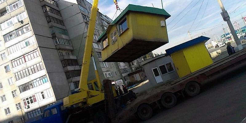 Безымянный бизнес: В декабре в Воронеже демонтируют еще 17 киосков и павильонов